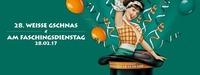 28. Weisse Gaschnas am Faschingsdienstag@Sudwerk - Die Weisse