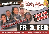 Live on Stage -> Steirerbluat@Party Alm Hartberg