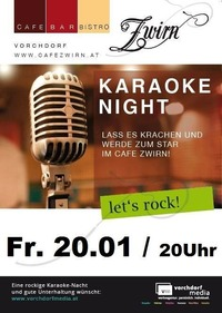 Karaoke Night@Cafe Zwirn