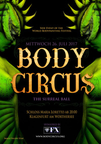 Body Circus - Der surreale Ball@Schloss Maria-Loretto