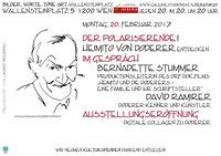 Heimito von Doderer entdecken - Themenabend und Ausstellungseröffnung!@Osteria Allora