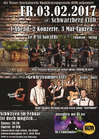 1 Abend - 2 Konzerte - 3 mal Tanzen!@Schwarzberg