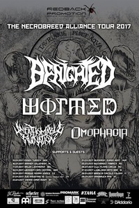 Benighted / Wormed / Unfathomable Ruination / Omophagia@Viper Room