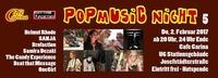 PopMusic Night 5 - Do, 2.2.2017@Café Carina