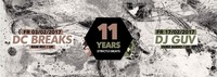 11 Year strictly.beats Part 1 feat DC Breaks (RAM Rec UK)@Postgarage