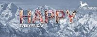 HAPPY - Die Freitagsfeierei - Platzhirsch@Platzhirsch