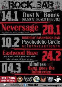 Neversage live at rock.BAR@rock.Bar