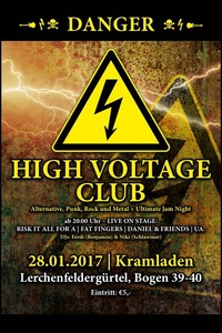 HIGH VOLTAGE CLUB@Kramladen