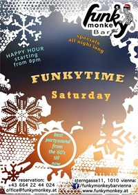 Funkytime !!! - Saturday January 21th 2017@Funky Monkey