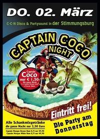 Captain Coco Night@Excalibur