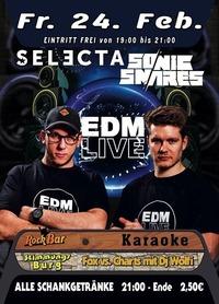 EDM LIVE mit Selecta & Sonic Snares@Excalibur