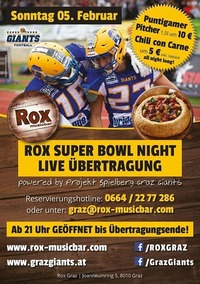 Super Bowl Night@Rox Bar&Grill