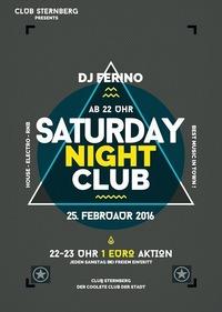 ★► Saturday Night Club w/ DJ Ferino ►★@Club Sternberg