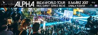 ALPHA - Ibiza World Tour 2017 - DJ Paul Darey, SPACE Ibiza@Club Alpha