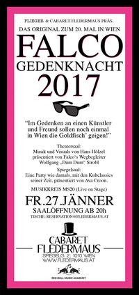 FALCO Gedenknacht 2017@Cabaret Fledermaus