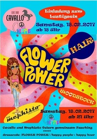 FlowerPowerFaschingsparty XXL@Bar Mephisto
