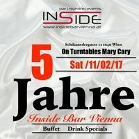 5 Jahre Inside Jubiläum @Inside Bar