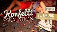 Konfetti Eskalation@Club Ohm