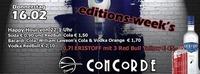 Editions-Week's@Discothek Concorde