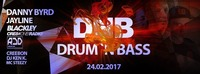 Drum `n Bass by Danny Byrd / Jayline / Blackley@Excalibur