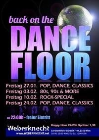 Back on the Dancefloor (80s, 90s & more)@Weberknecht