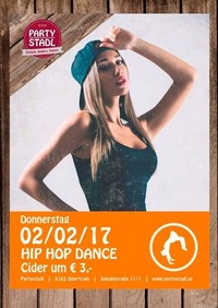 Hip Hop Dance Night@Partystadl