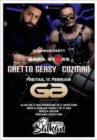 Babastars / Ghetto Geasy & Cozman live show@Club G6