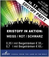 Eristoff Party@Partymaus Wörgl