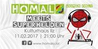 Homalo meets Superhelden@Kulturhaus-Keller
