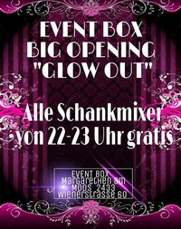 Big Opening -Glow Out- der neue Freitag Club@The Cube Disco