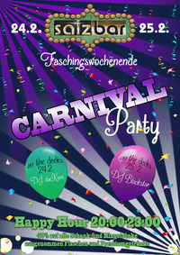 Carneval Weekend/DJ daKaos/DJ Blackstar@Salzbar