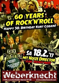 60 years of Rock'n'Roll - Happy 50. Birthday Kurt Cobain!@Weberknecht
