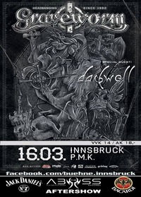 Graveworm & special guest: Darkwell@Abyss Bar