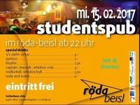 Studentspub Pre-Opening@KV Röda