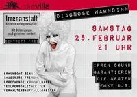 Patientenparty - Willkommen in der Psychiatrie!@Die Villa - musicclub