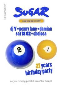 21 Jahre SUGAR CLUB@Chelsea Musicplace