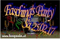 Faschings Party 2017@Boogie Alm