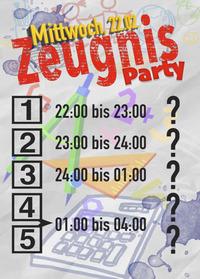 Zeugnis-Party@Spessart