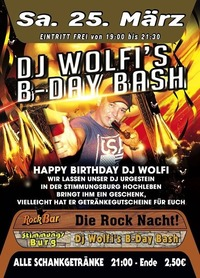 Dj Wolfi's B-Day Bash@Excalibur