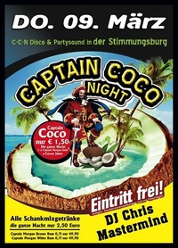 Captain Coco Night@Excalibur