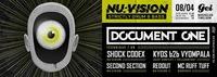 NU:Vision w/ Document One (Technique Recordings)@GEI Musikclub