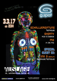 G.SPOT@Club Auslage