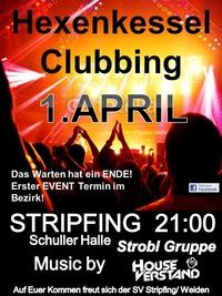 Hexenkessel Stripfing@Schuller Halle