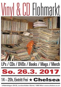 Vinyl- & CD-Flohmarkt im Chelsea@Chelsea Musicplace