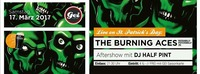 Live On St. Patrick's Day: The Burning Aces im GEI Musikclub@GEI Musikclub