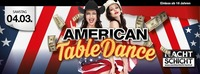 American Table Dance@Nachtschicht