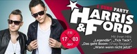 1 EURO PARTY mit Harris & Ford@Baby'O