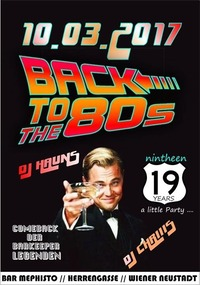 19 Jahre Bar Mephisto BACK to the 80ies@Bar Mephisto
