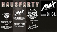 ▲▲ Große Hausparty ▲▲@MAX Disco