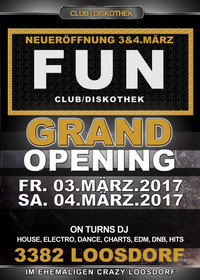 Grand Opening - Club Diskothek Fun@FUN